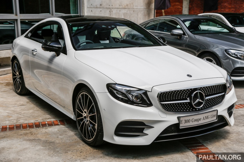C238 Mercedes Benz E Class Coupe Launched In Malaysia