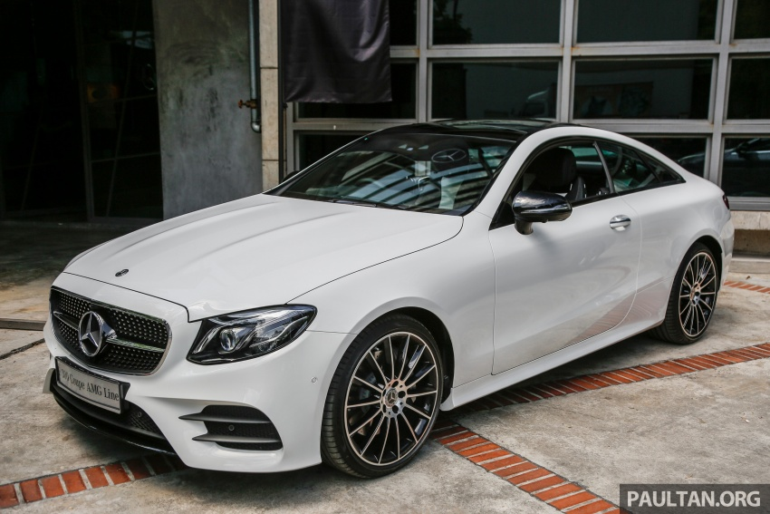 C238 mercedes benz e class coupe launched in malaysia for Mercedes benz e300 amg