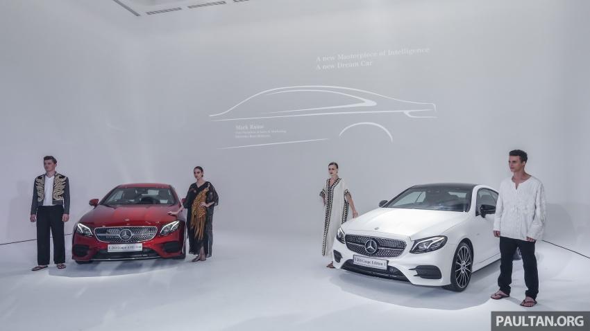 Mercedes-Benz E-Class Coupe kini dilancarkan di Malaysia – tiga varian, harga dari RM436k Image #688806