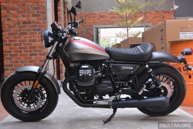 2017 moto guzzi v9 bobber on display rm74 900. Black Bedroom Furniture Sets. Home Design Ideas