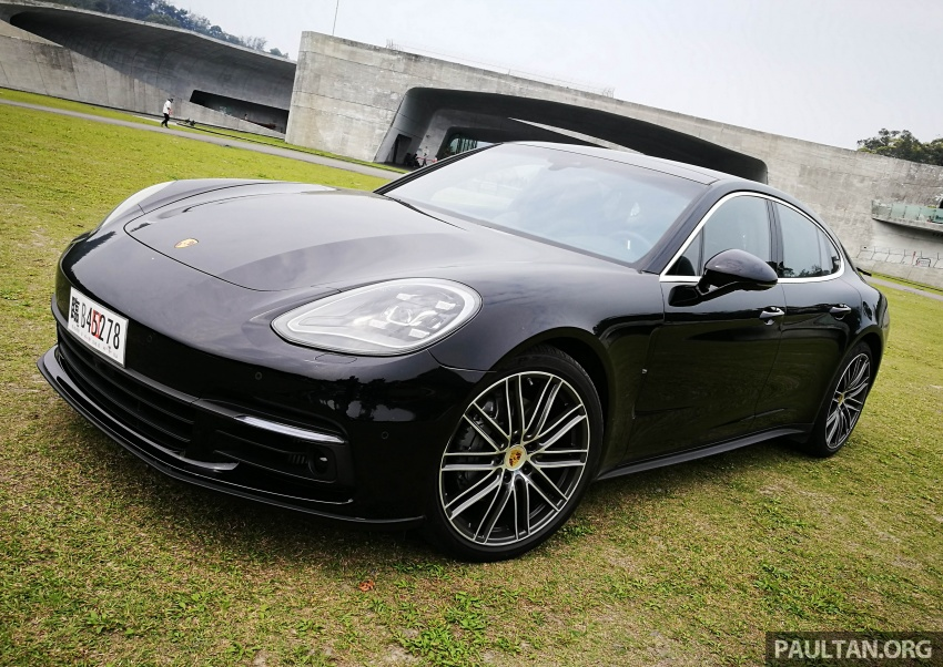 DRIVEN: 2017 Porsche Panamera 4S in Taiwan – take a break Jeeves, because the Boss wants to boss the car Image #678490