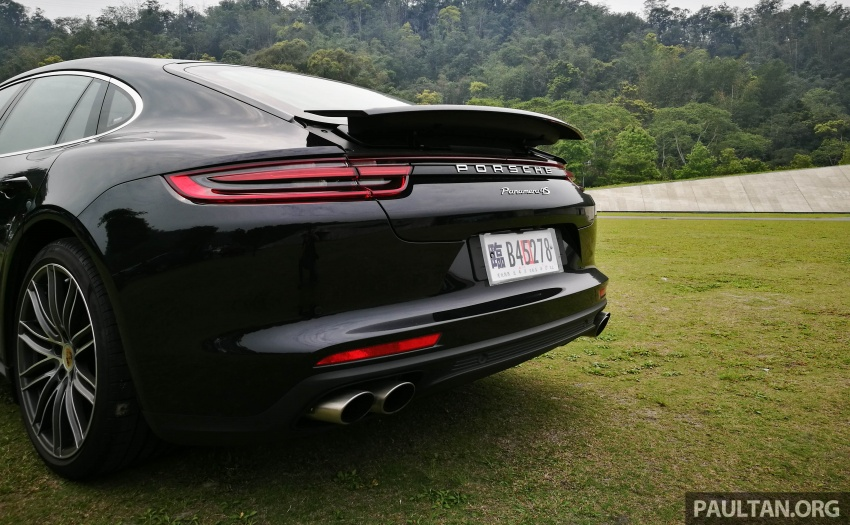 DRIVEN: 2017 Porsche Panamera 4S in Taiwan – take a break Jeeves, because the Boss wants to boss the car Image #678491