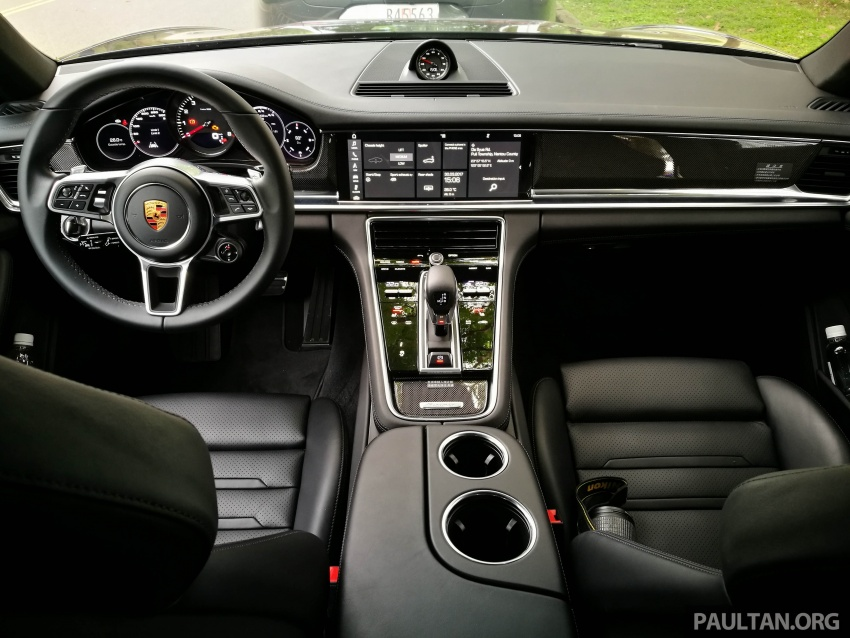 DRIVEN: 2017 Porsche Panamera 4S in Taiwan – take a break Jeeves, because the Boss wants to boss the car Image #678502