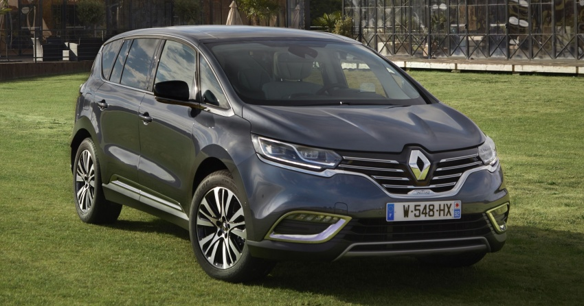 2017 Renault Espace revealed with new engine, kit Image #679119