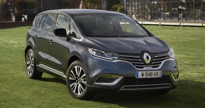 2017 Renault Espace revealed with new engine, kit Image #679119