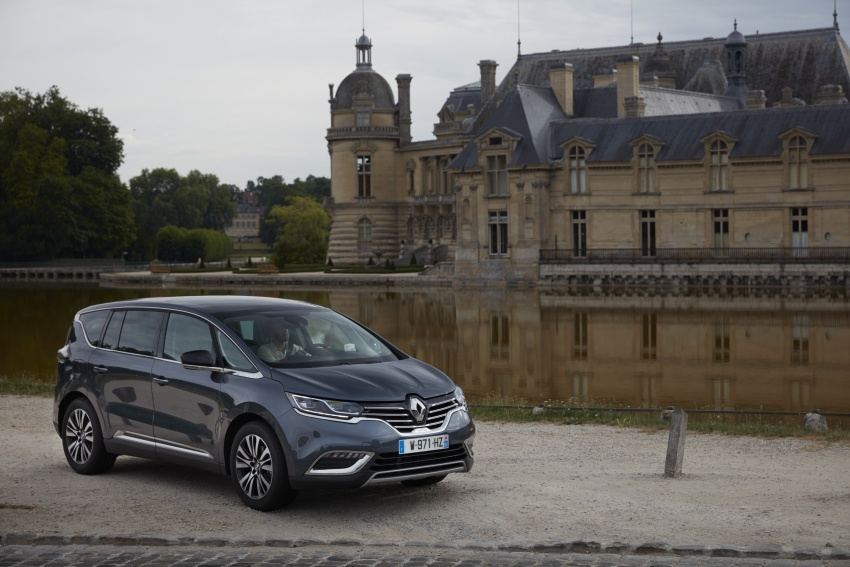2017 Renault Espace revealed with new engine, kit Image #679130