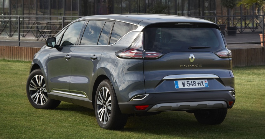 2017 Renault Espace revealed with new engine, kit Image #679120