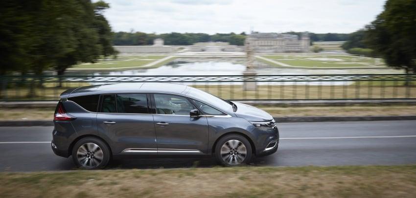 2017 Renault Espace revealed with new engine, kit Image #679138