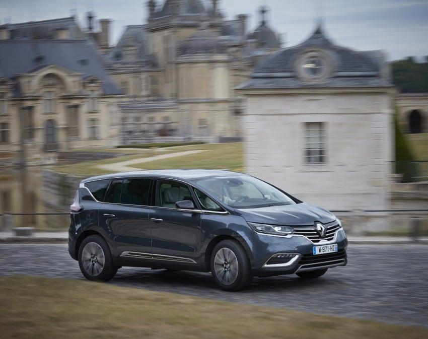 2017 Renault Espace revealed with new engine, kit Image #679144
