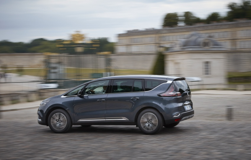 2017 Renault Espace revealed with new engine, kit Image #679145