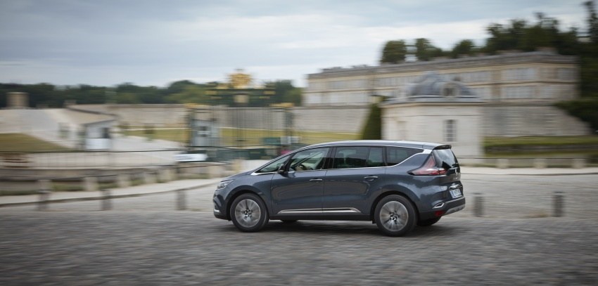 2017 Renault Espace revealed with new engine, kit Image #679146