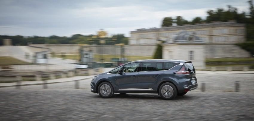 2017 Renault Espace revealed with new engine, kit Image #679146