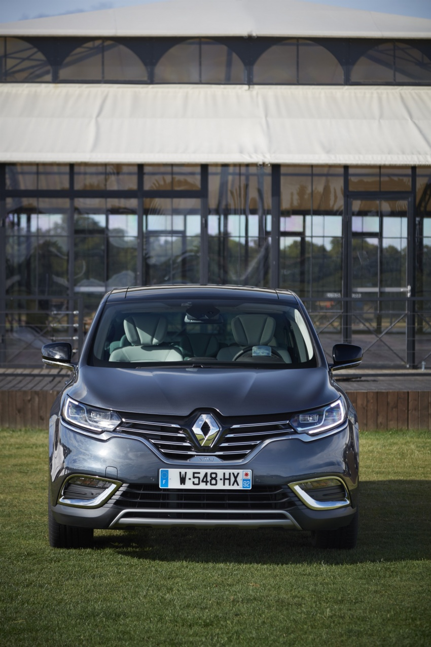 2017 Renault Espace revealed with new engine, kit Image #679122