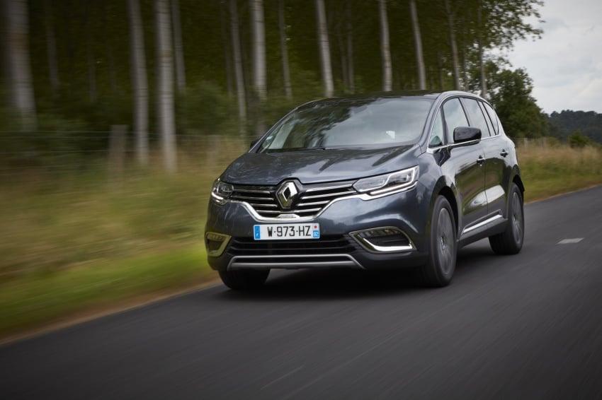 2017 Renault Espace revealed with new engine, kit Image #679159