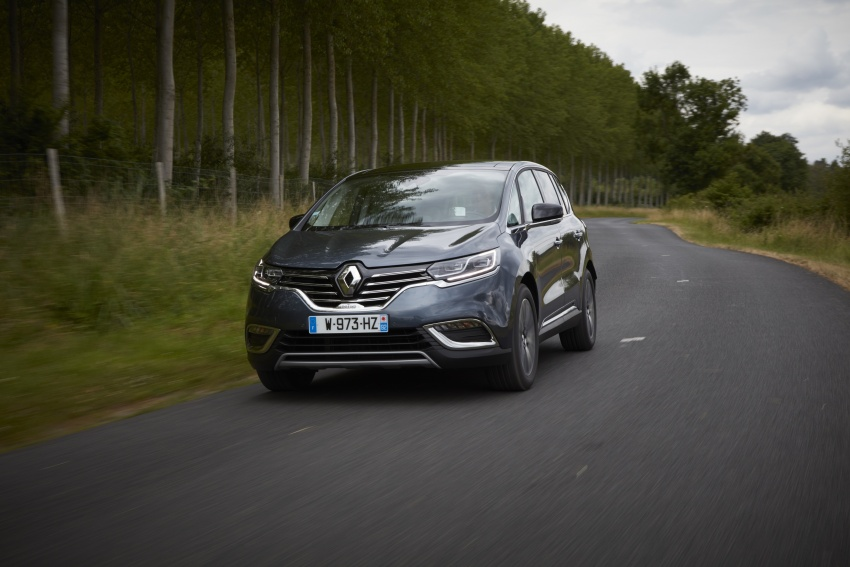 2017 Renault Espace revealed with new engine, kit Image #679164