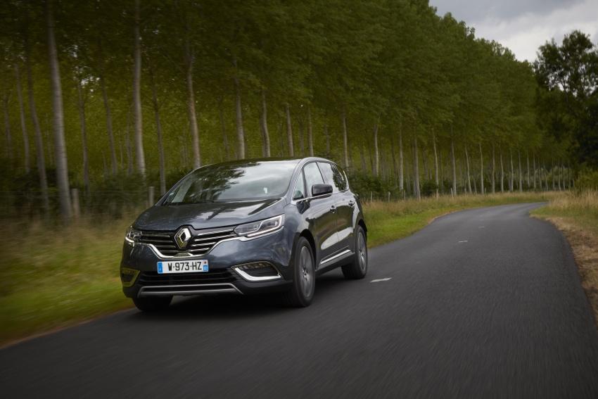 2017 Renault Espace revealed with new engine, kit Image #679165