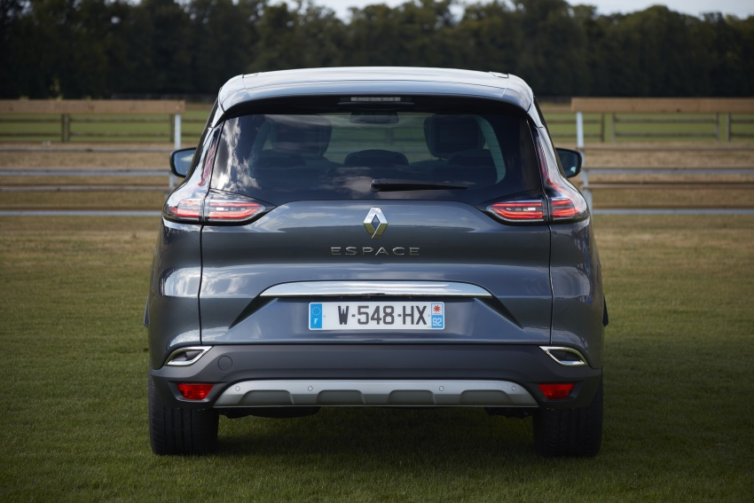 2017 Renault Espace revealed with new engine, kit Image #679123