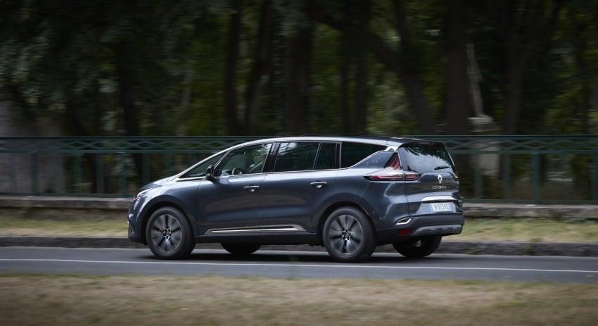 2017 Renault Espace revealed with new engine, kit Image #679180
