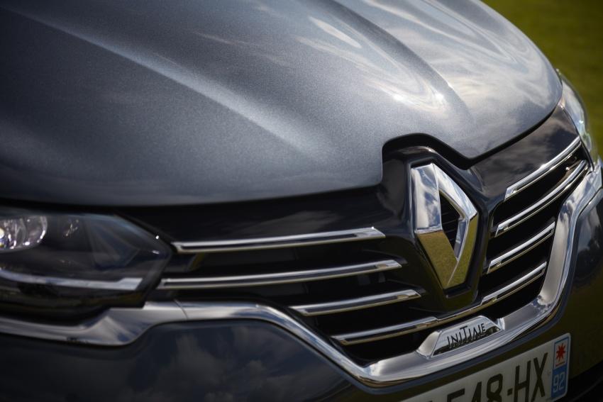 2017 Renault Espace revealed with new engine, kit Image #679127