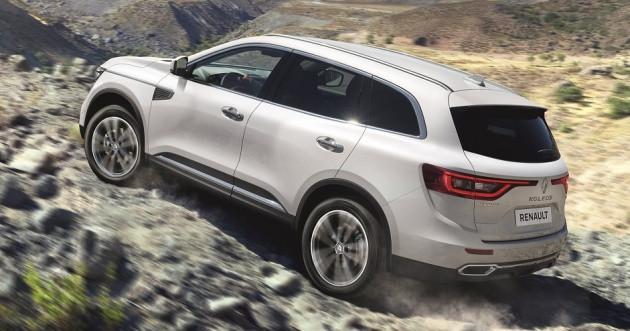 Renault Koleos 25l Now Officially Available With 4wd In Malaysia