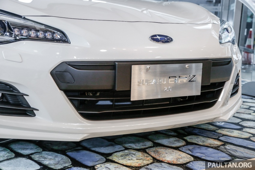 Subaru BRZ facelift kini di M'sia – ditawarkan dengan manual 6-kelajuan, harga antara RM224k-RM231k Image #691606