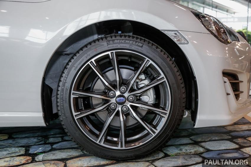 Subaru BRZ facelift kini di M'sia – ditawarkan dengan manual 6-kelajuan, harga antara RM224k-RM231k Image #691607