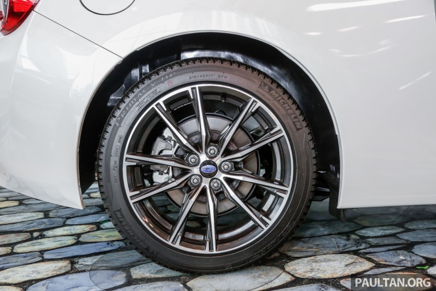 Subaru BRZ facelift kini di M'sia – ditawarkan dengan manual 6-kelajuan, harga antara RM224k-RM231k Image #691608