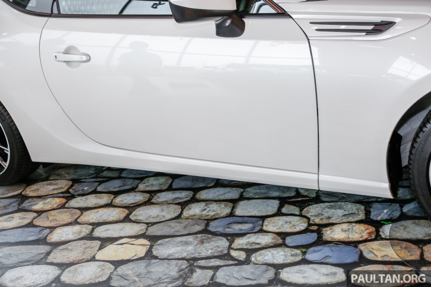 Subaru BRZ facelift kini di M'sia – ditawarkan dengan manual 6-kelajuan, harga antara RM224k-RM231k Image #691613
