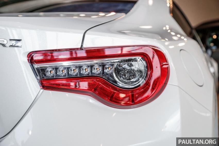 Subaru BRZ facelift kini di M'sia – ditawarkan dengan manual 6-kelajuan, harga antara RM224k-RM231k Image #691615