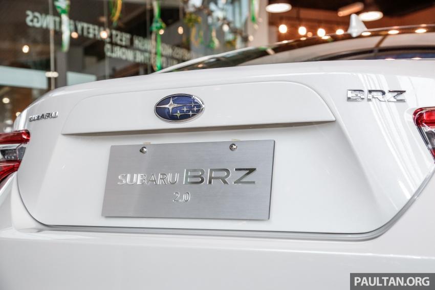 Subaru BRZ facelift kini di M'sia – ditawarkan dengan manual 6-kelajuan, harga antara RM224k-RM231k Image #691617