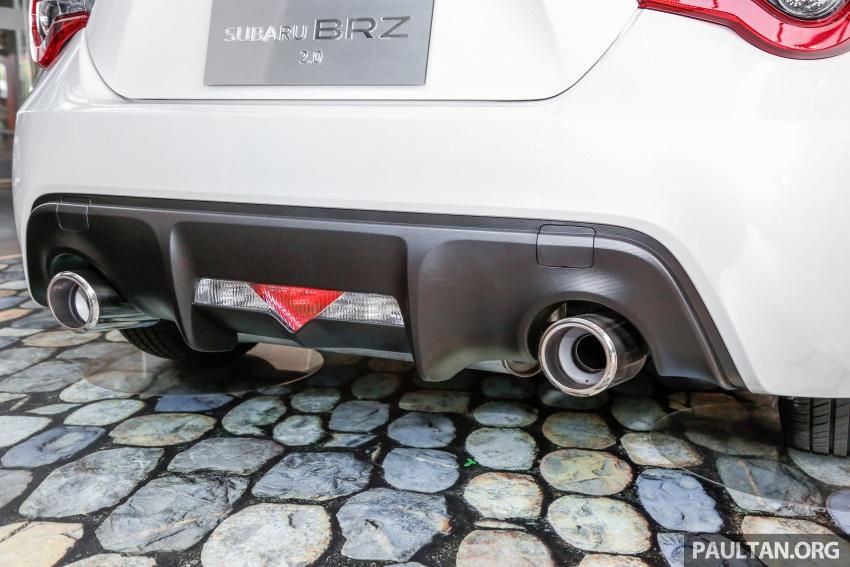 Subaru BRZ facelift kini di M'sia – ditawarkan dengan manual 6-kelajuan, harga antara RM224k-RM231k Image #691618