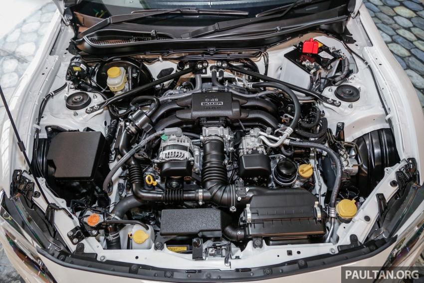 Subaru BRZ facelift kini di M'sia – ditawarkan dengan manual 6-kelajuan, harga antara RM224k-RM231k Image #691621