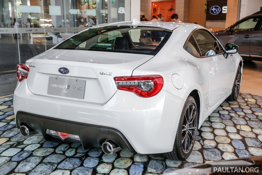 Subaru BRZ facelift kini di M'sia – ditawarkan dengan manual 6-kelajuan, harga antara RM224k-RM231k Image #691595
