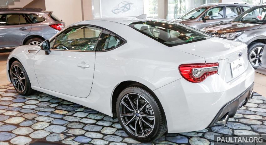 Subaru BRZ facelift kini di M'sia – ditawarkan dengan manual 6-kelajuan, harga antara RM224k-RM231k Image #691596