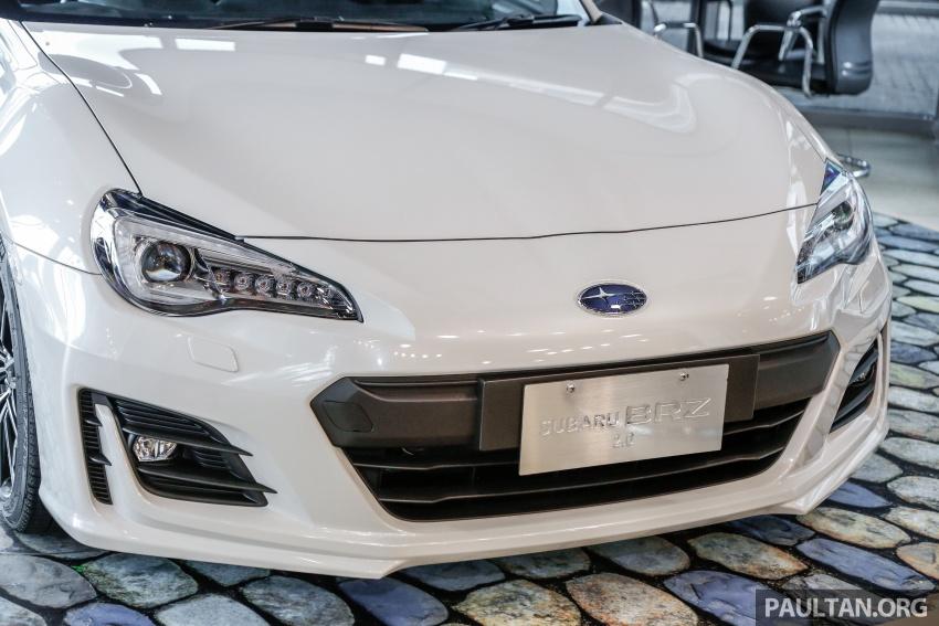 Subaru BRZ facelift kini di M'sia – ditawarkan dengan manual 6-kelajuan, harga antara RM224k-RM231k Image #691600
