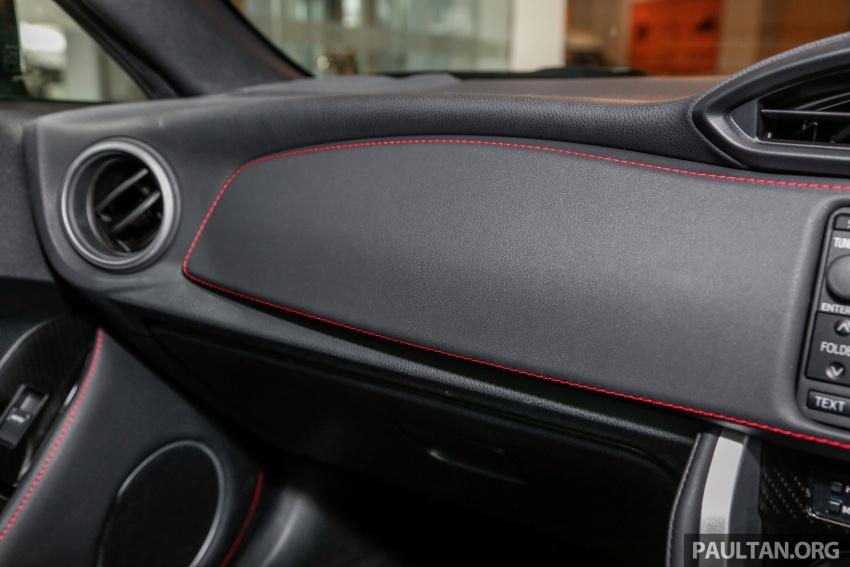 Subaru BRZ facelift kini di M'sia – ditawarkan dengan manual 6-kelajuan, harga antara RM224k-RM231k Image #691635