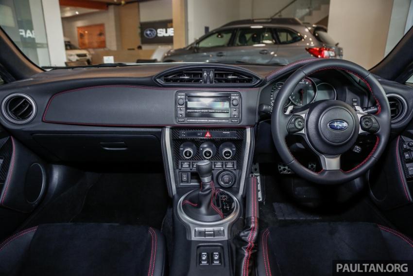 Subaru BRZ facelift kini di M'sia – ditawarkan dengan manual 6-kelajuan, harga antara RM224k-RM231k Image #691623