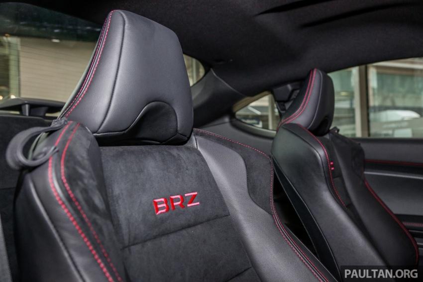 Subaru BRZ facelift kini di M'sia – ditawarkan dengan manual 6-kelajuan, harga antara RM224k-RM231k Image #691643