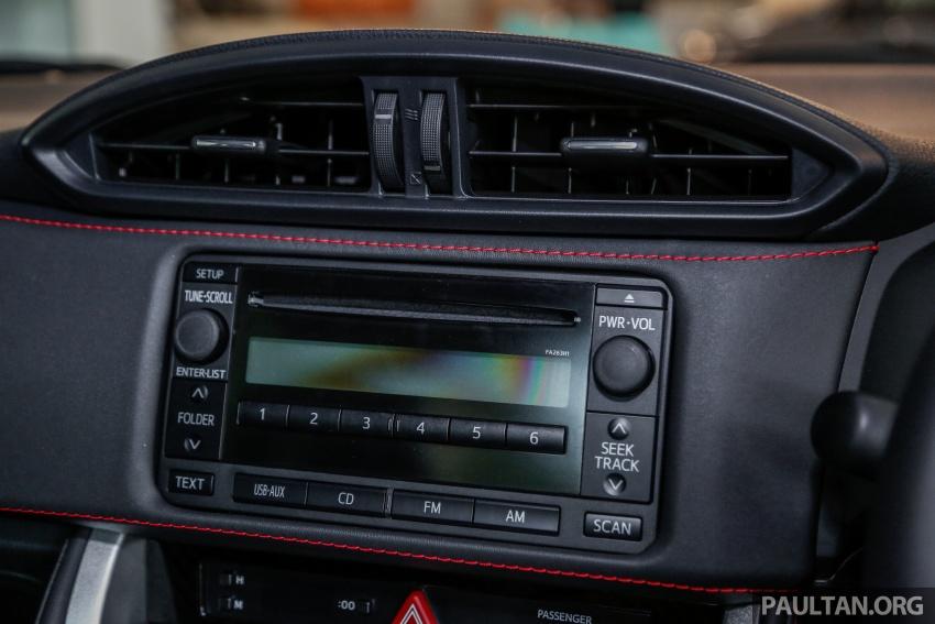 Subaru BRZ facelift kini di M'sia – ditawarkan dengan manual 6-kelajuan, harga antara RM224k-RM231k Image #691629