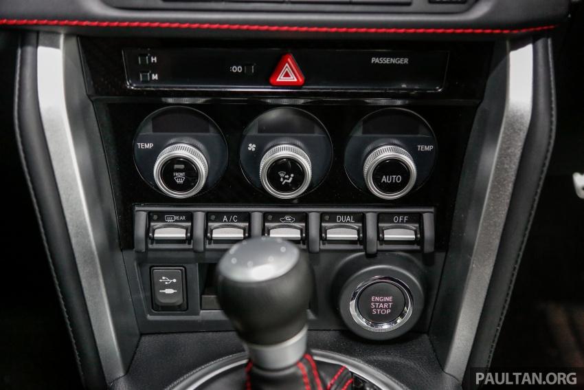 Subaru BRZ facelift kini di M'sia – ditawarkan dengan manual 6-kelajuan, harga antara RM224k-RM231k Image #691630
