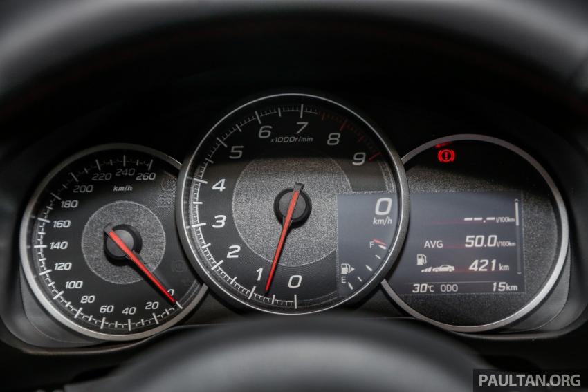 Subaru BRZ facelift kini di M'sia – ditawarkan dengan manual 6-kelajuan, harga antara RM224k-RM231k Image #691659
