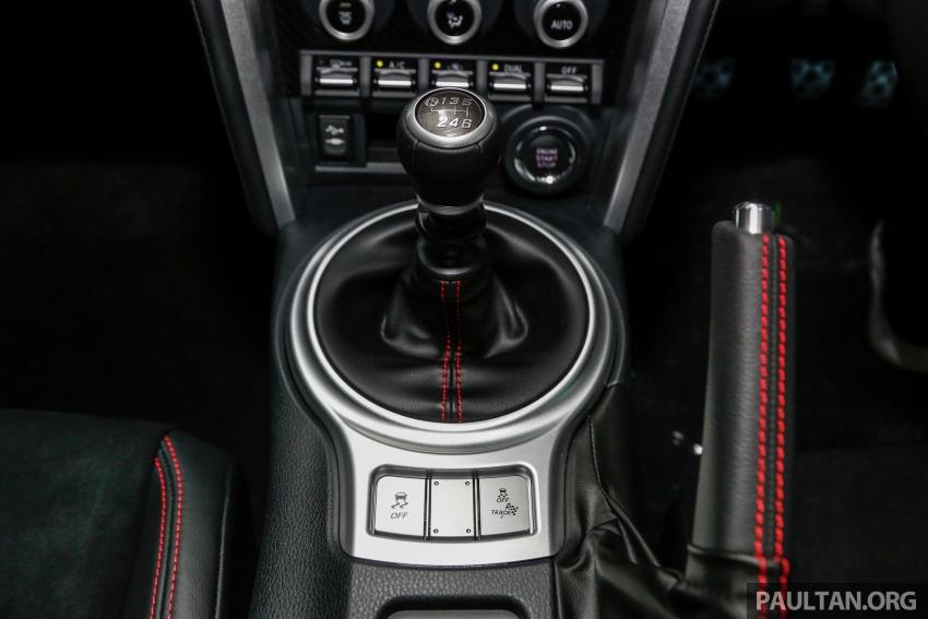 Subaru BRZ facelift kini di M'sia – ditawarkan dengan manual 6-kelajuan, harga antara RM224k-RM231k Image #691655