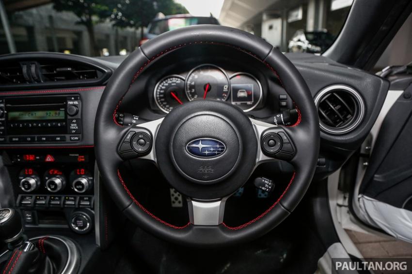 Subaru BRZ facelift kini di M'sia – ditawarkan dengan manual 6-kelajuan, harga antara RM224k-RM231k Image #691660