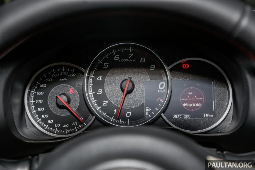 Subaru BRZ facelift kini di M'sia – ditawarkan dengan manual 6-kelajuan, harga antara RM224k-RM231k Image #691661