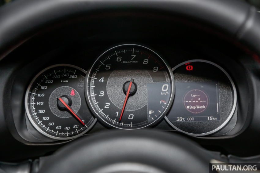 Subaru BRZ facelift kini di M'sia – ditawarkan dengan manual 6-kelajuan, harga antara RM224k-RM231k Image #691662