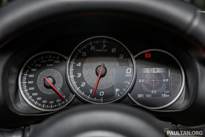 Subaru BRZ facelift kini di M'sia – ditawarkan dengan manual 6-kelajuan, harga antara RM224k-RM231k Image #691663