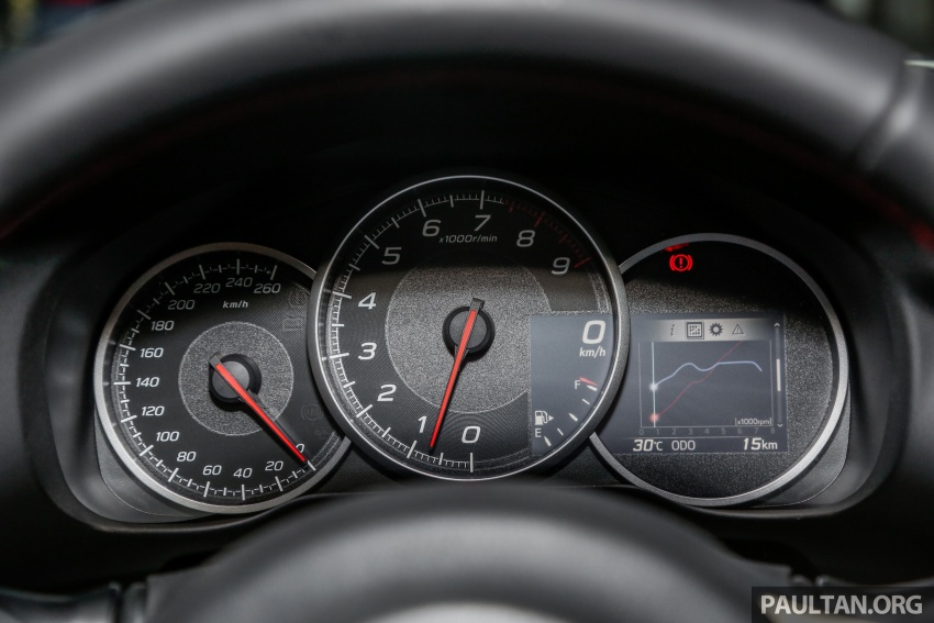 Subaru BRZ facelift kini di M'sia – ditawarkan dengan manual 6-kelajuan, harga antara RM224k-RM231k Image #691665