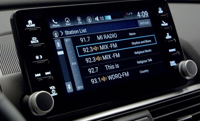 Honda Accord 2018 didedahkan – 1.5 VTEC Turbo dan 2.0 VTEC Turbo bersama transmisi auto 10-kelajuan Image #683746
