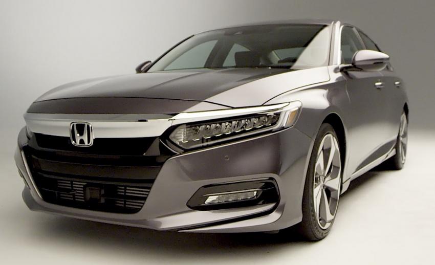 Honda Accord 2018 didedahkan – 1.5 VTEC Turbo dan 2.0 VTEC Turbo bersama transmisi auto 10-kelajuan Image #683758