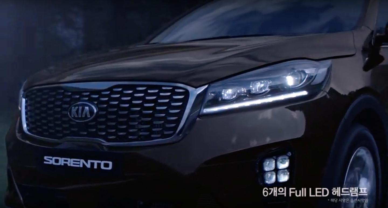 2018 Kia Sorento UM facelift revealed in South Korea Image ...